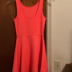 Fit and flare simple dress